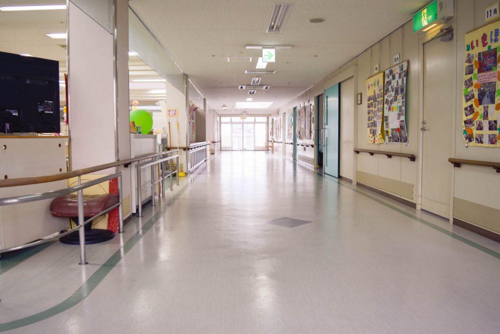 介護老人保健施設フロア